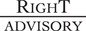 Logo, Right Advisory LLC - Risk Management